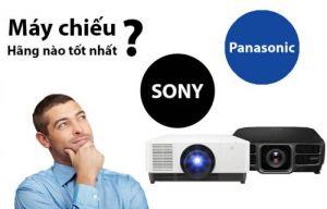 So sánh máy chiếu Sony và Panasonic
