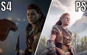 So sánh phiên bản PS4 và PS5  của game Horizon Forbidden West