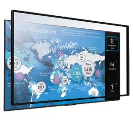 Màn hình tương tác 65 inch 4K HDR Sony Multi-Touch Overlay