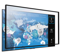 Màn hình tương tác 75 inch 4K HDR Sony Multi-Touch Overlay