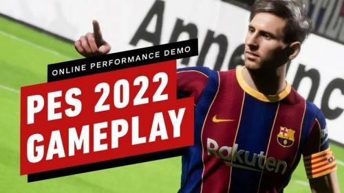 Trải nghiệm demo online PES 2022 miễn phí